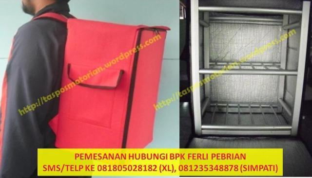 Tas Ransel Delivery Motor | Box Delivery